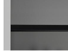 Stahlblech-Fachboden für Einschwenktürenschrank,einschl. Halter