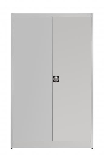 Stahlblech-Flügeltürenschrank,1200 mm breit,500 mm tief,4 Fachböden