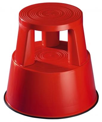 Rolltritt / Kunststoff, rot