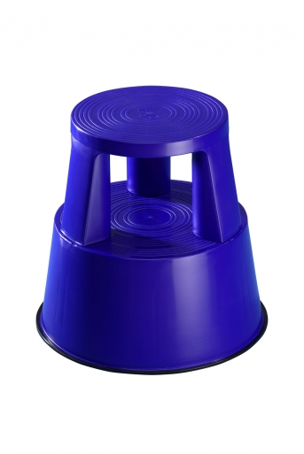 Rolltritt / Kunststoff, blau