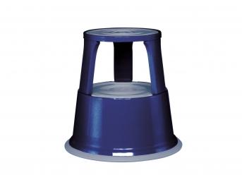 Rolltritt / Stahlblech, blau