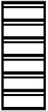 Stahlblech-Karteikartenschrank GL 6-2 DIN A 5 quer