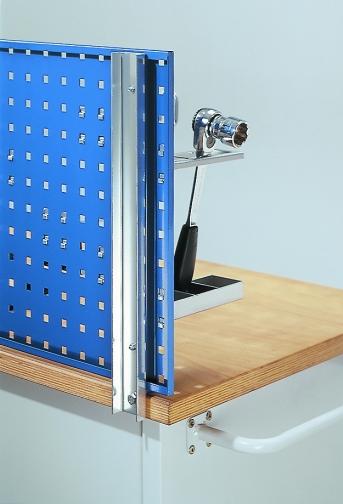 Lochplatten Werkbankhalterung für 1 Platte