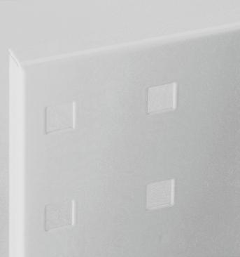 Lochplatte Länge 500 mm lichtgrau RAL 7035