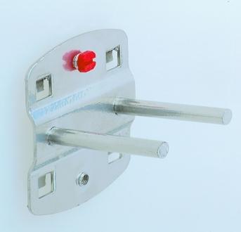Werkzeug-Doppelhalter flach (Dorn)
