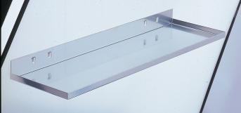Ablageplatte 350 x 125 mm (BxT)