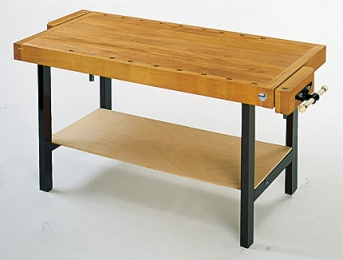 Vielzweck-Werktisch/Hobelbank, 1500 x 650 x 850 mm (L/B/H)