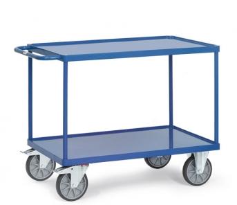 Tischwagen 2400W mit Stahlblech-Wannen