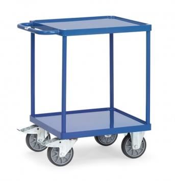 Tischwagen 2496W mit Stahlblech-Wannen