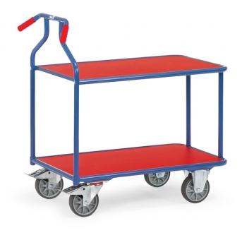 Optiliner-Tischwagen 3601  blau/rot