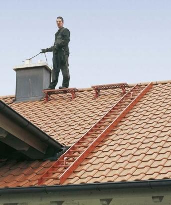 Dachleiter 2,0m Alu natur