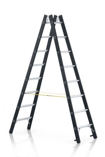Schwerlast-Stehleiter, beidseitig begehbar