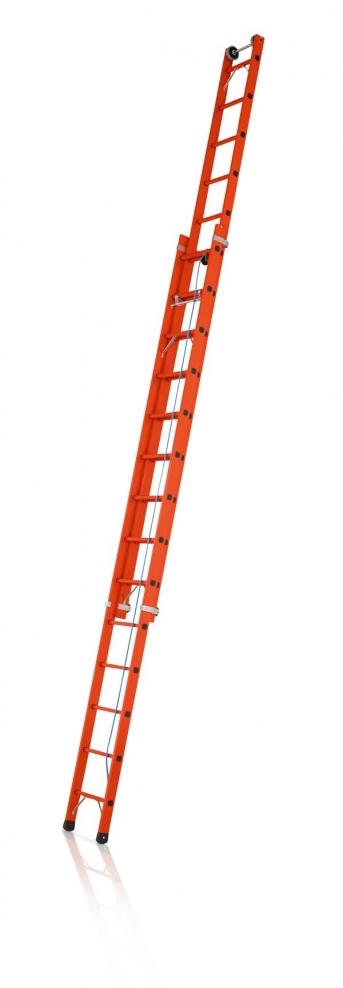 Kunststoff-Seilzugleiter,2-tlg.