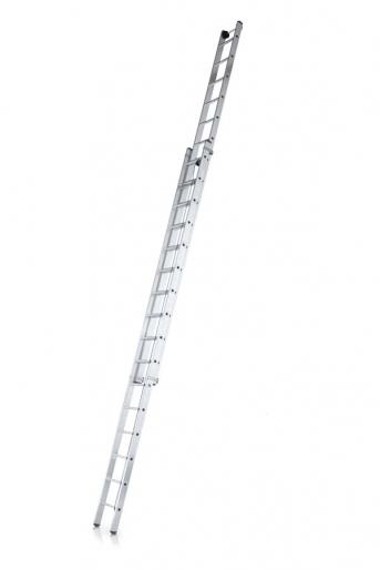 Leichtmetall-Seilzugleiter, 2-tlg.