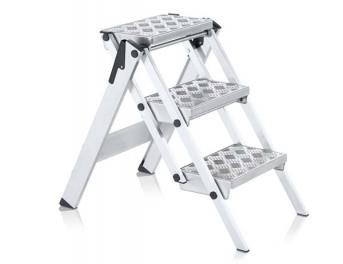 Leichtmetall-Sicherheitstreppe, klappbar