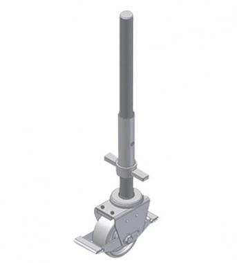 Alu-Guss-Lenkrolle (elektisch ableitfähig)