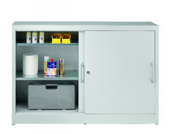 Universal-Schiebetürenschrank 1015x1500x500 mm, 2x2 Fachböden