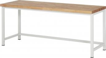 Werkbank Serie Basic 8, 2000 mm lang