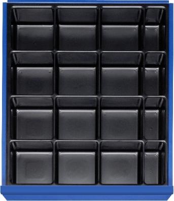Einteilungs-Set für 120-150 mm mit Mulden