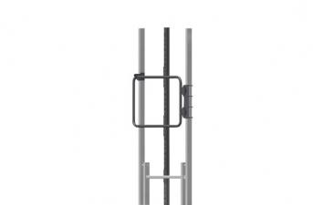 Durchgangstüre für Steigleitern, Edelstahl V4A