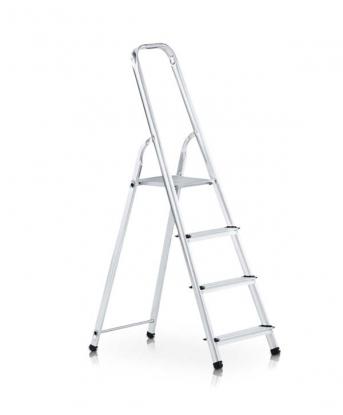 Stufen-Stehleiter mit Brücke einseitig begehbar