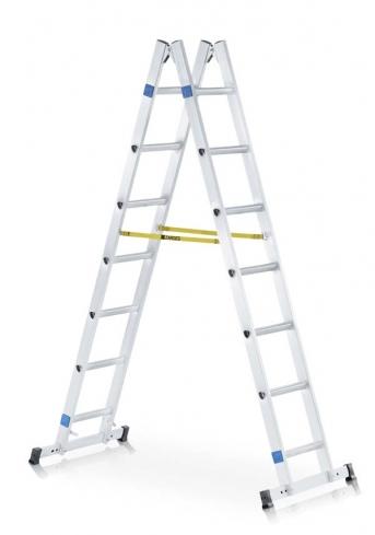 Sprossen-Stehleiter beidseitig begehbar