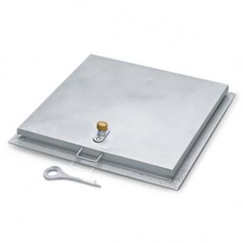 Schachtabdeckung Stahl verzinkt