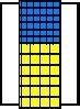 Kleinteile-Materialschrank  mit Tür 60 Kästen MK