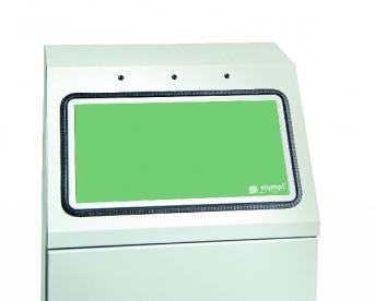 Zusatz-Einwurfklappe blassgrün
