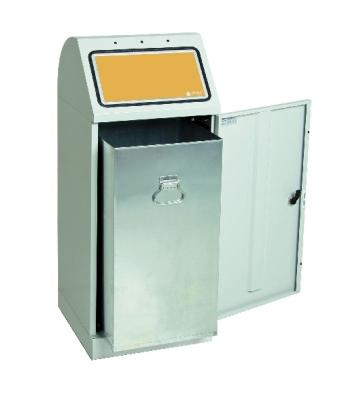 Sortsystem Flex-M, Einzelbehälter mit verzinktem Innenbehälter