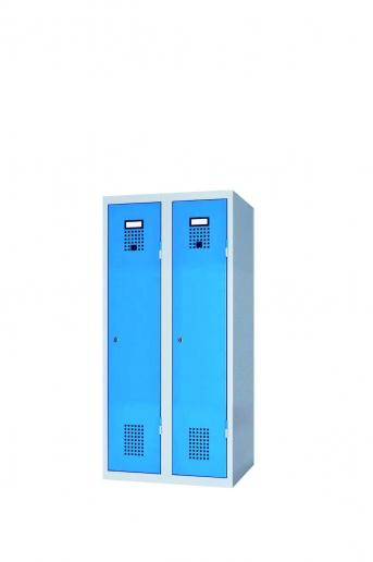 Stahlblech-Garderobenschrank 1200 mm hoch