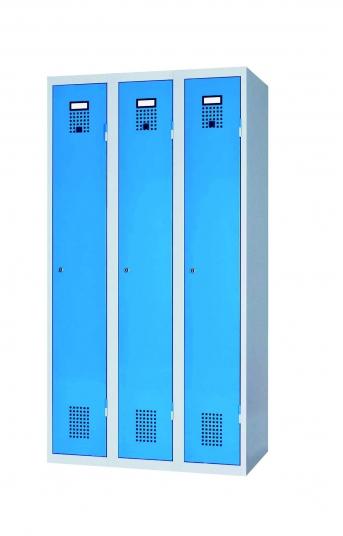 Stahlblech-Garderobenschrank 1500 mm hoch