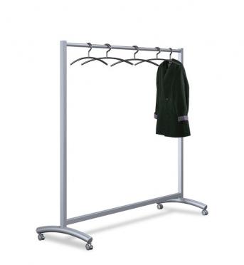 Reihengarderobe - Kleiderständer rollbar