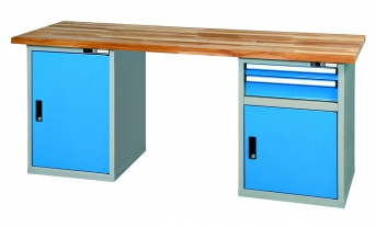 Werkbank Kombi WBUU1 - 2000 Buche Multiplex