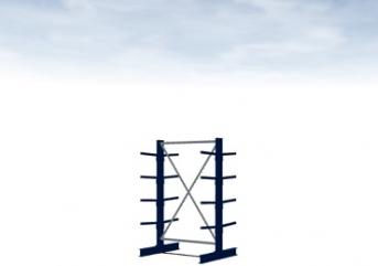 Grundregal Typ M 2000 mm hoch Armlänge 400 mm