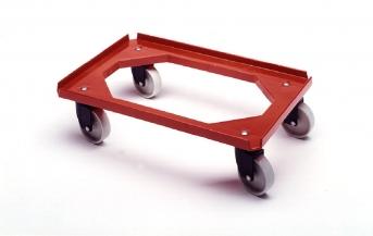 Kastenroller für Eurokästen 600 x 400 mm