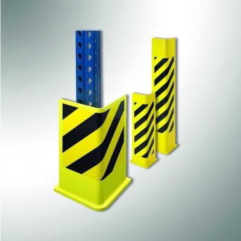 Schutzecke L-Form  Pulverbeschichtung gelb/schwarz