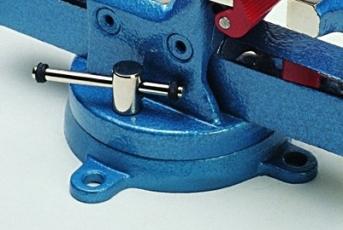 Drehteller 360 Grad für Scheidt-Parallelschraubstock 100 mm Backenbreite, Serie Profi