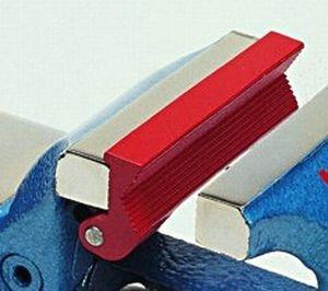 Rohrspannbacke für Scheidt- Parallelschraubstock 135 mm Backenbreite, Serie Profi