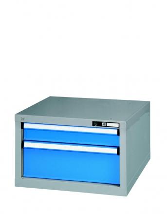 Werkbank-Hängeunterschrank mit 2 Schubladen