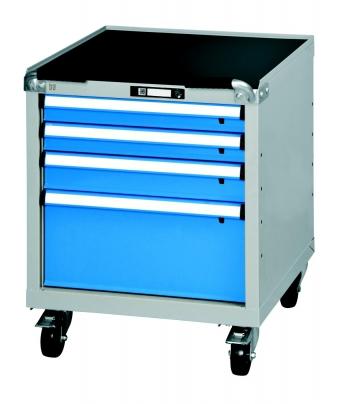 Werkbank-Rollcontainer mit 4 Schubladen